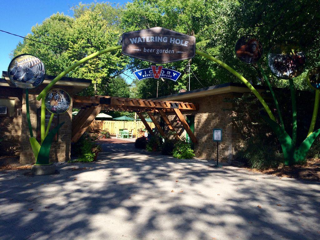 Philly Zoo Victory Beer Garden