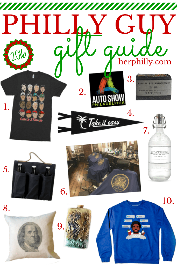Philly Guy Gift Guide