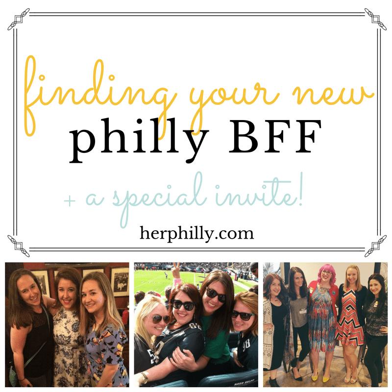 Making friends in Philadelphia