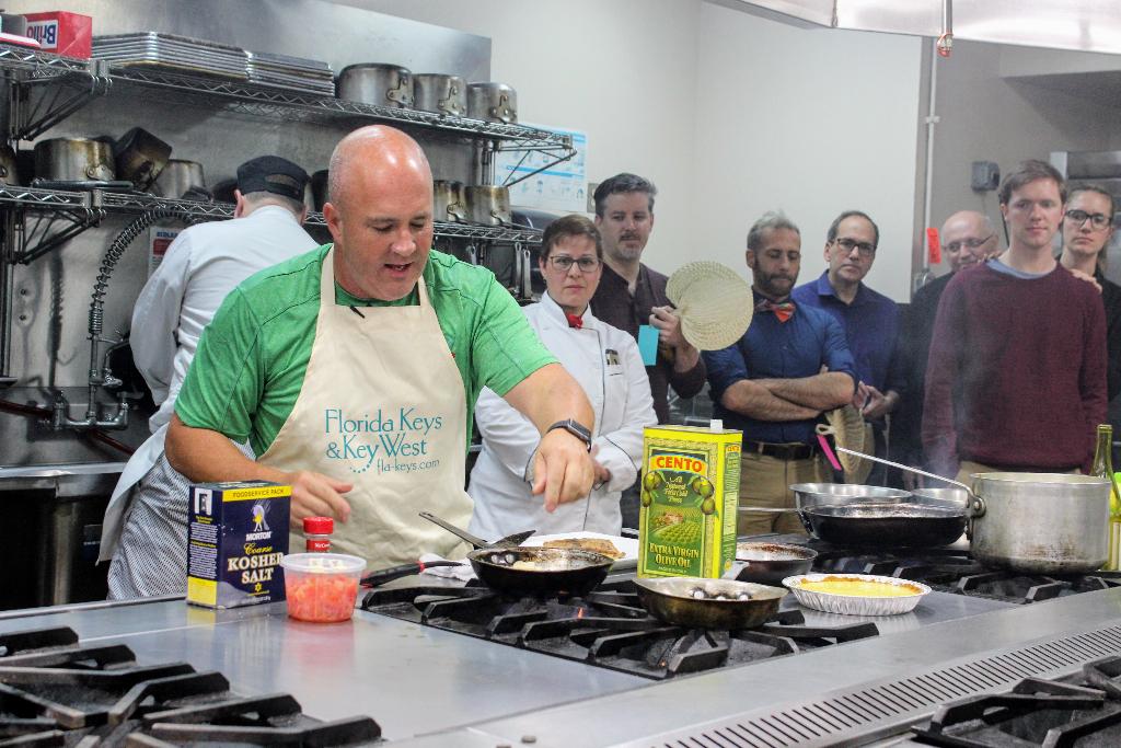 Chef Bobby Stoky Key West