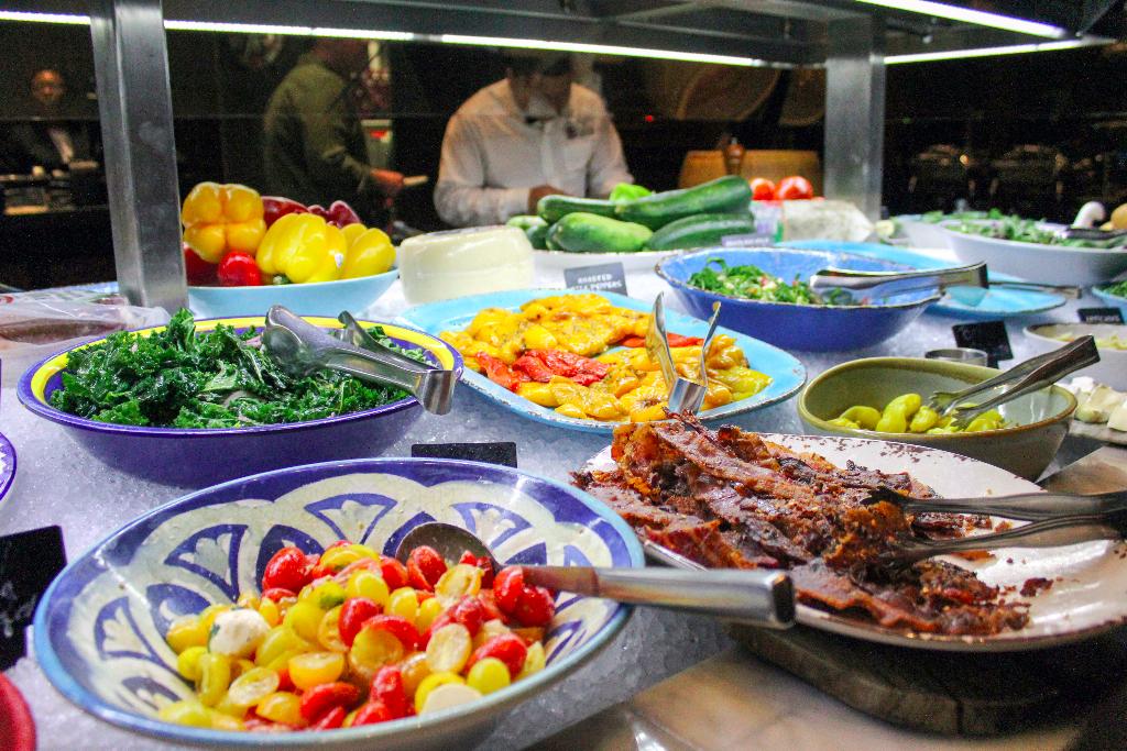 Fogo de Chao Market Table Center City