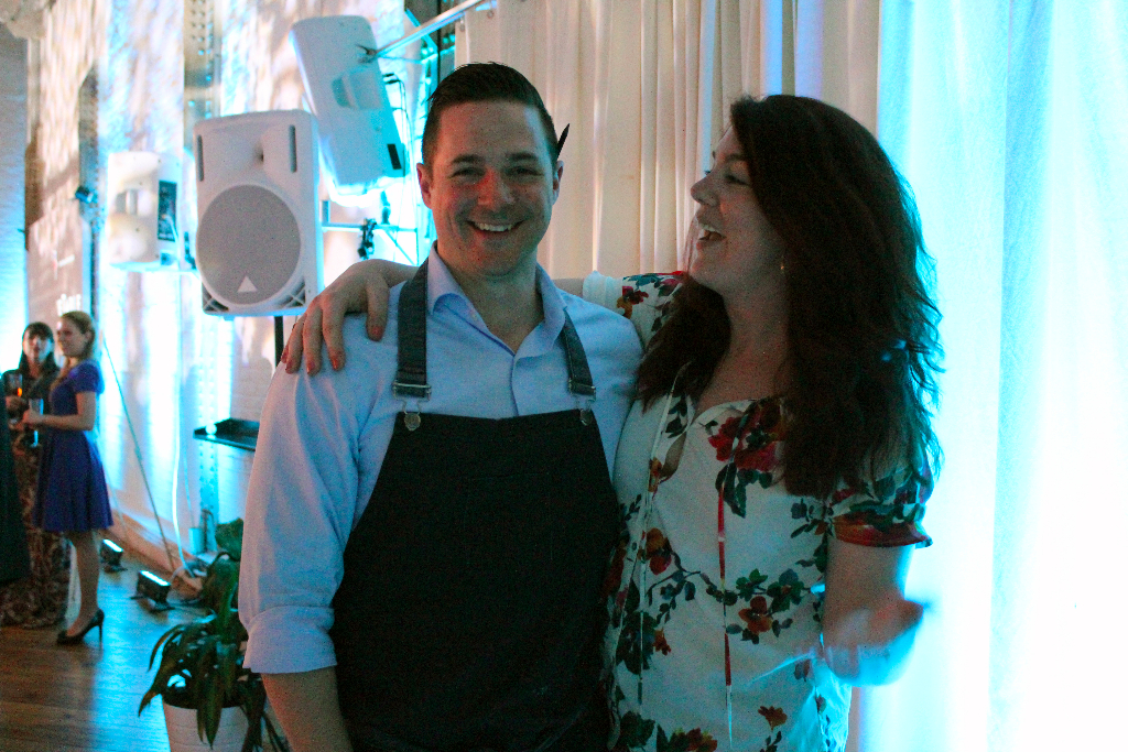 Chef Nick Elmi and Kelly Benesh