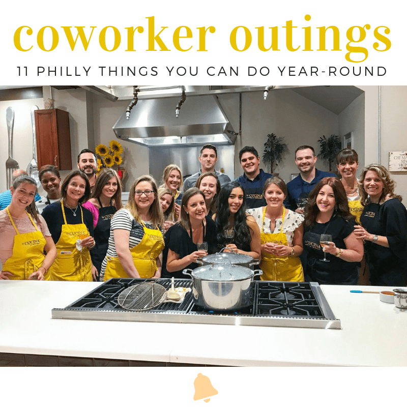 Philly Team Building + Coworker Outing Ideas