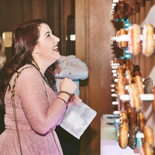 Holiday party goals?  Well a DONUT WALL seems likehellip