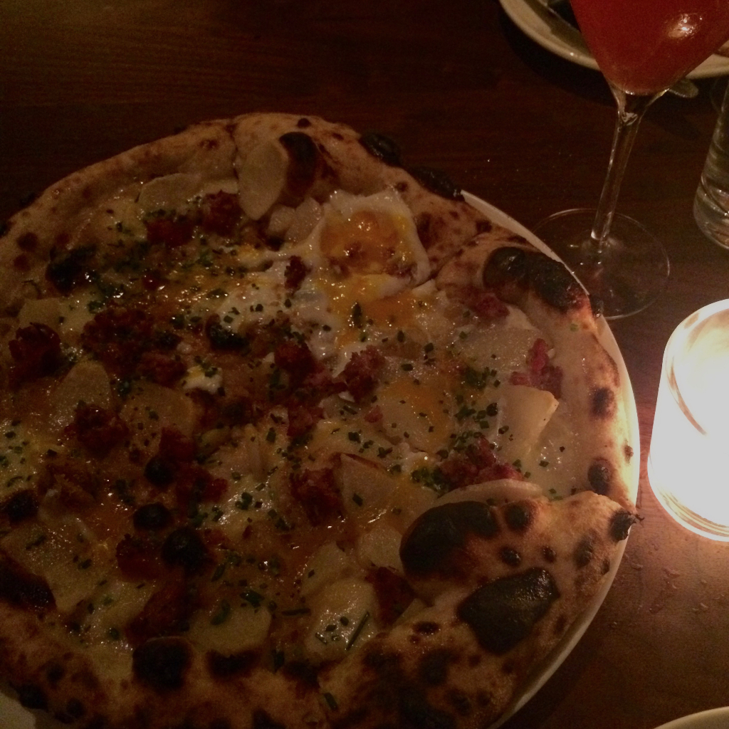 Breakfast Pizza at Wm Mulherin's Sons