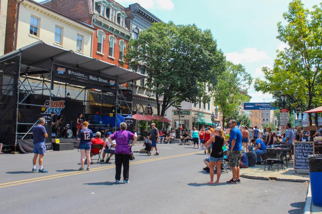 Musikfest on Main Street