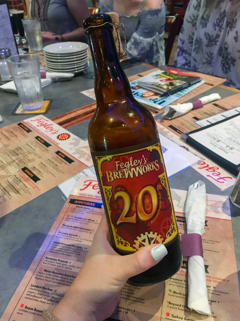 Fegley's Brew Works 20th Anniversary Beer
