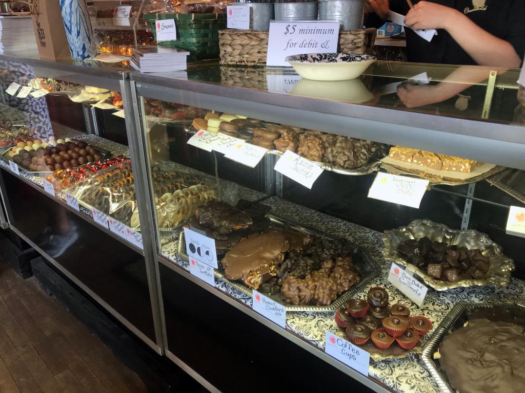Chocolate shop bethlehem