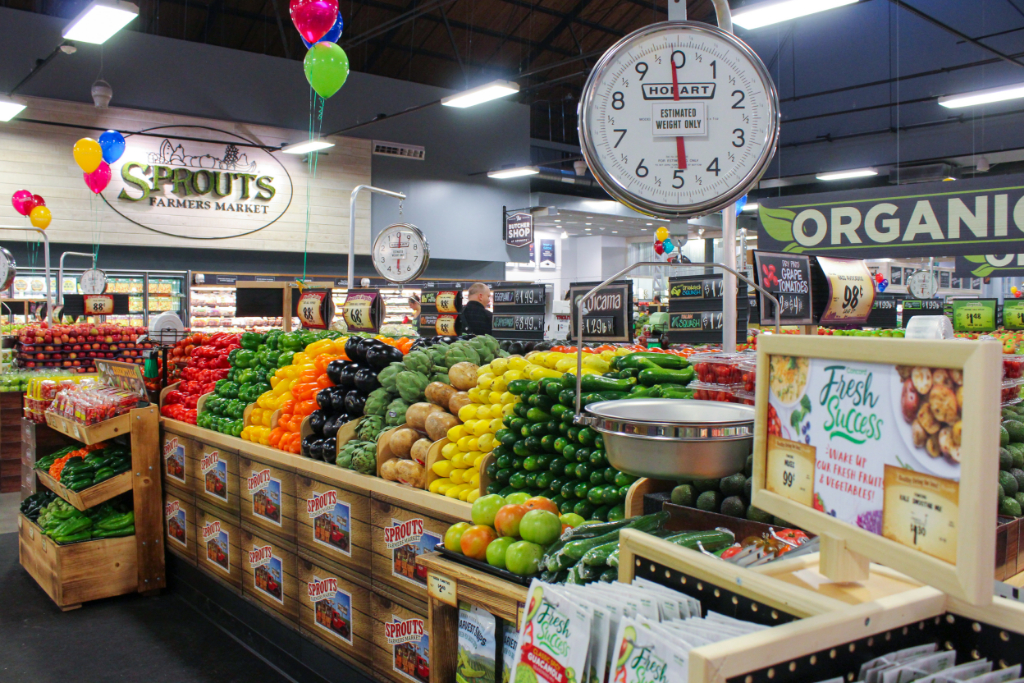 Shopping at Sprouts Philadelphia