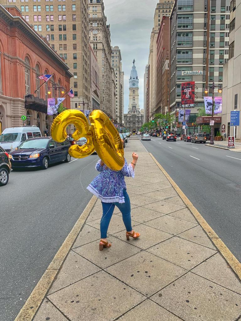 Philadelphia Blogger on Broad Street