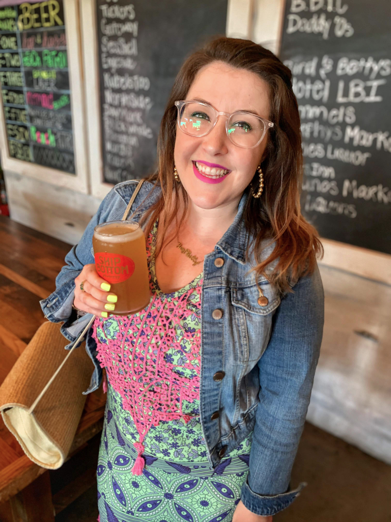 Emily Tharp at Ship Bottom Brewery