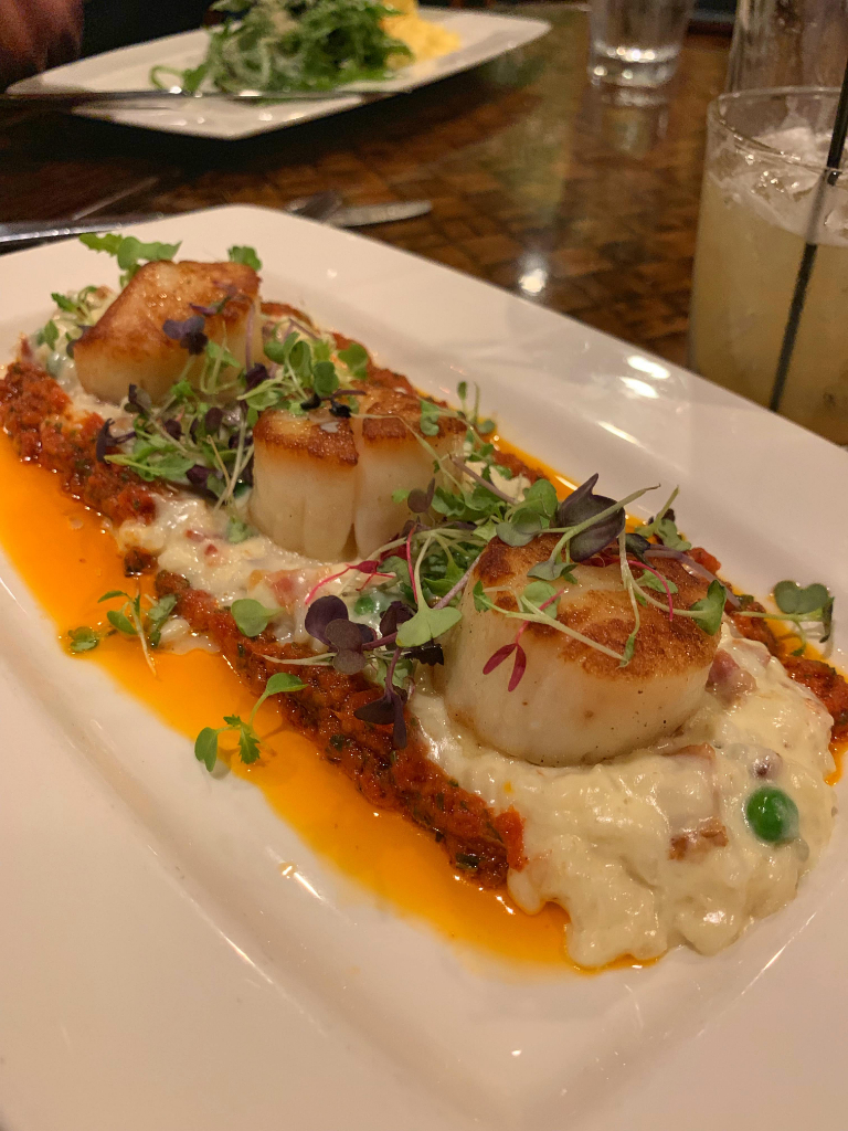 Scallops at Plantation LBI