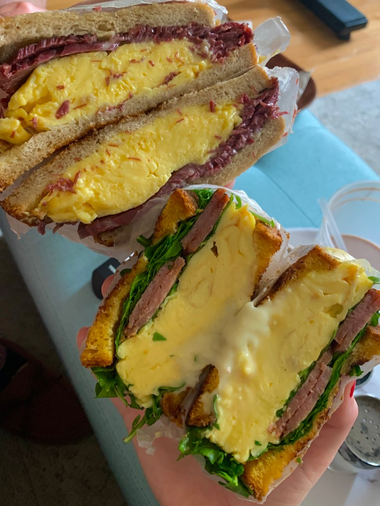 Middle Child Philly breakfast sandwiches