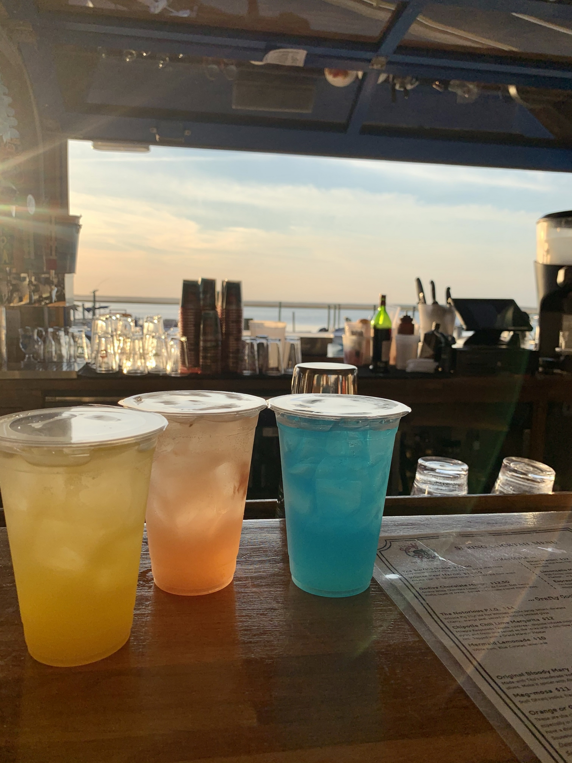 The Shore House North Wildwood cocktails