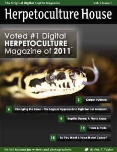 HerpHouse Digital Reptiles Magazine