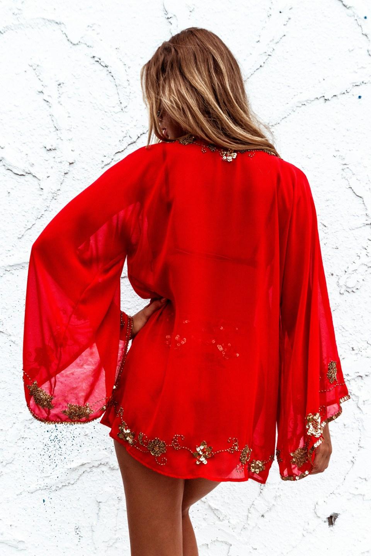 azalea kimono back