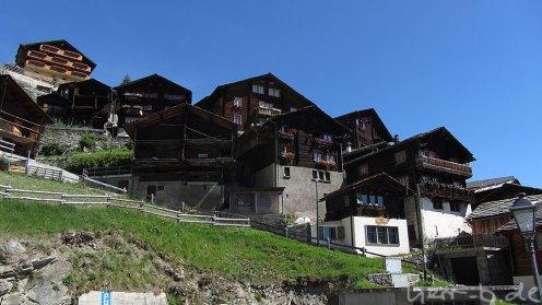 Uralte Häuser in Törbel