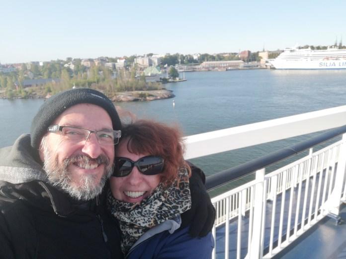 Auf der Fähre von Helsinki (Norwegen) nach Tallinn (Estland)