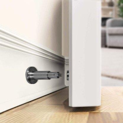 Tope magnetico para puerta 660-NC en pared