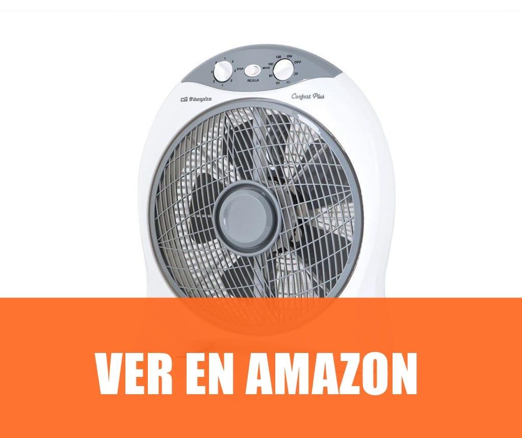Orbegozo BF 0137 - Ventilador Box Fan con función oscilante