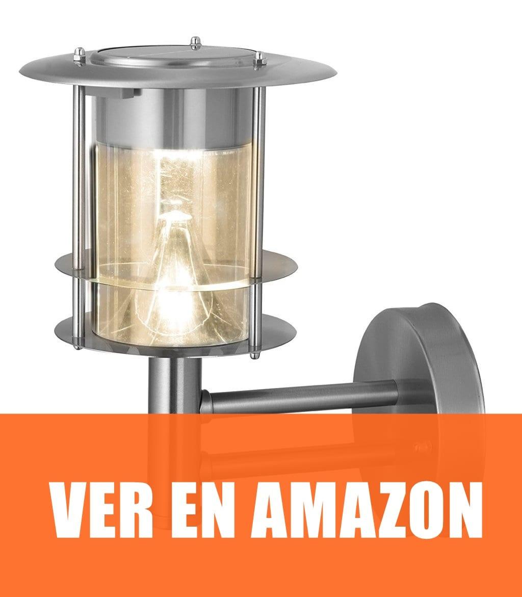 Best Season - Lámpara LED solar de pared