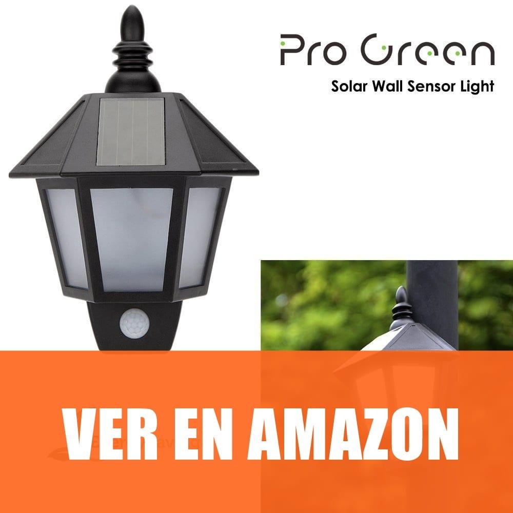 Progreen - Lámpara Solar