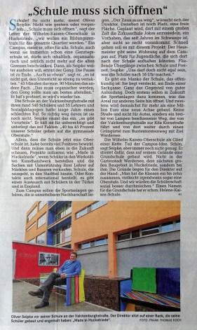 Weser Kurier 2012-12-12