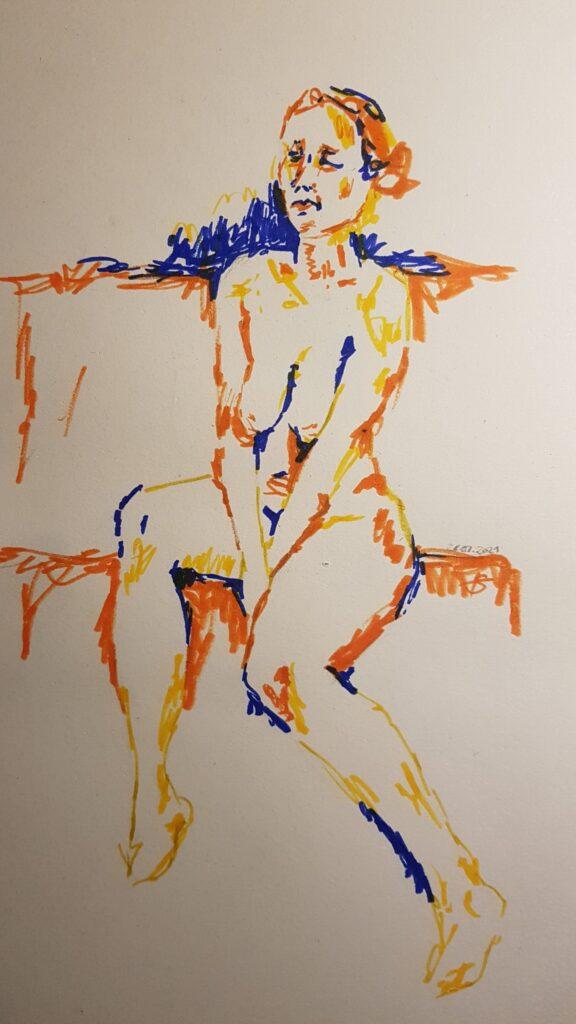 26.01.2021 Online Art Class life drawing with https://www.instagram.com/oh.francoise/ https://www.instagram.com/draw.livingart/ by herrberta.art