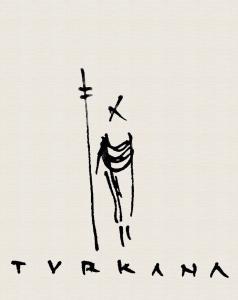 Logo básico sobre fondo tela Turkana © Miwe