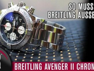 BREITLING AVENGER II CHRONOGRAPH |Test|Review|Deutsch