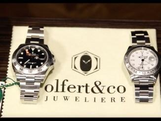 Rolex Explorer II 16570 vs. 216570 | Vergleich | alt vs. neu | Olfert&Co