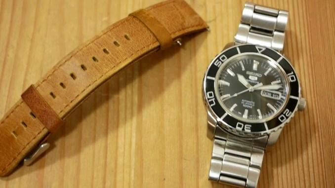 "Seiko SNZH55K1 Sports 5 ""Glossy"" (7S36) Taucheruhr   Uhr Armbanduhr Clock Diver Watch EDC Gear"