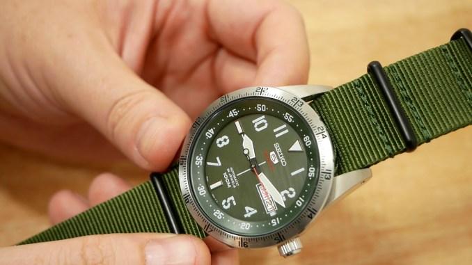 Seiko Sports 5 SRP515K1 | Gute Armbanduhren | Automatik Uhrwerk 4R36A | Uhr Clock Watch