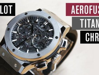 Hublot Classic Fusion Aerofusion Titanium Chronograph | Test | Review | Deutsch