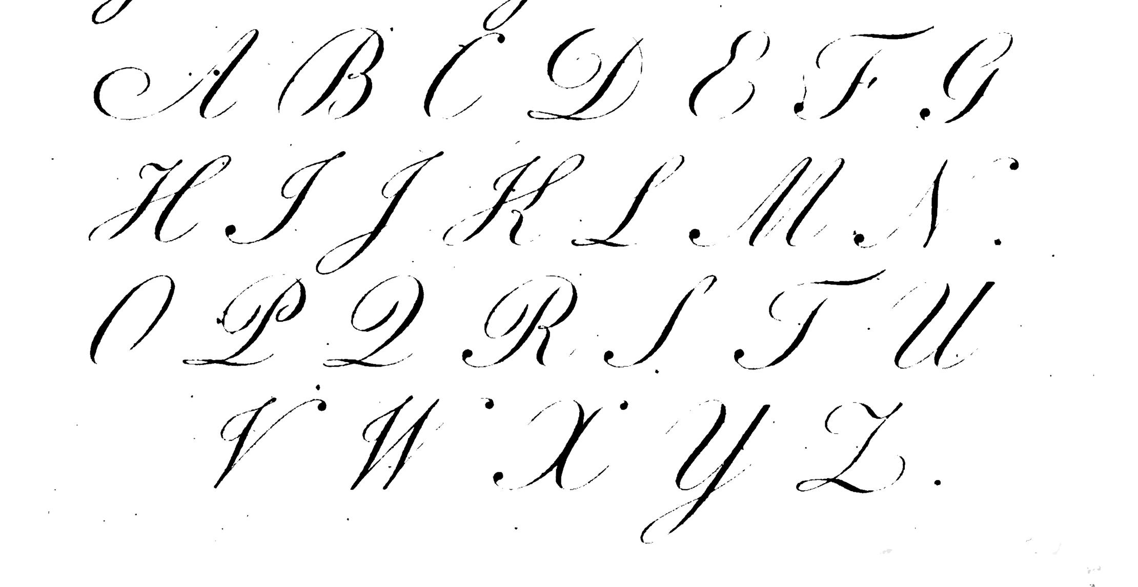 Help With Handwriting George