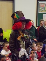 Liam (Y5A) as the Mad Hatter from 'Alice In Wonderland'