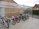 Lots of space for bikes now!