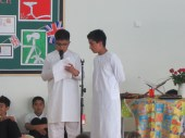 Sharing traditional songs