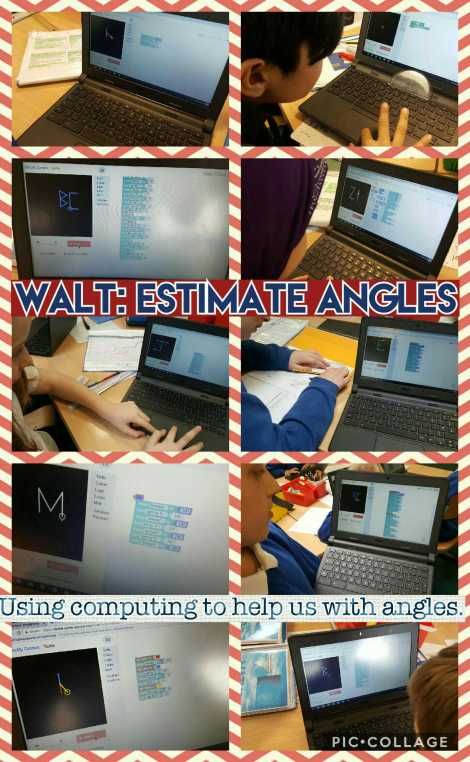 Using computing to help us with angles.