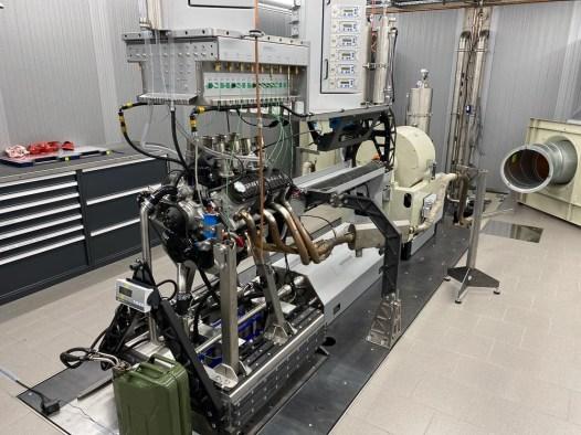 Inbetriebnahme eines neu aufgebauten Ford 289cui V8 Motors auf dem Stationären Prüfstand, Herrmann Motorenentwicklung GmbH