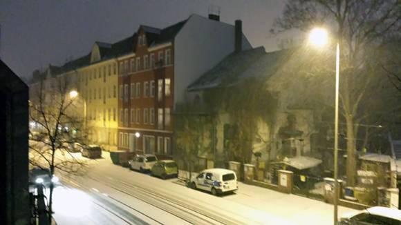Wenig Schnee