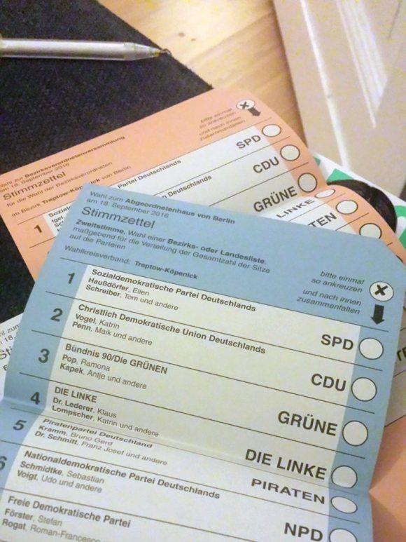 Vor der Wahl