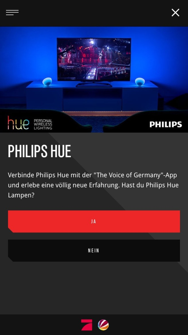 App Voice of Germany