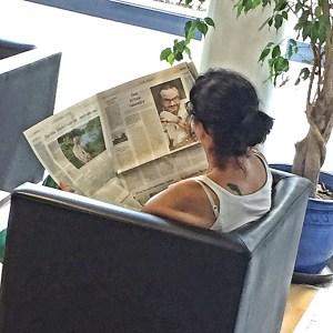 """""""Der Mann aus der Zeitung"""""""