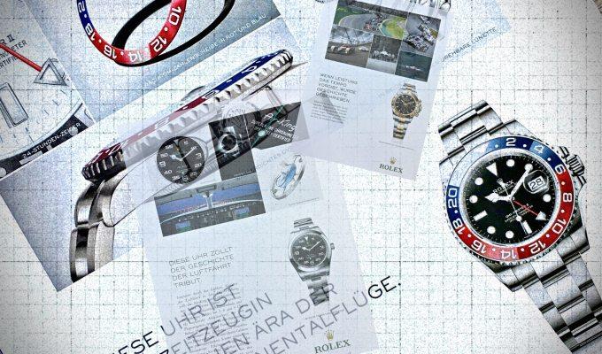 Die Grande Complication von Rolex: der Werbetext