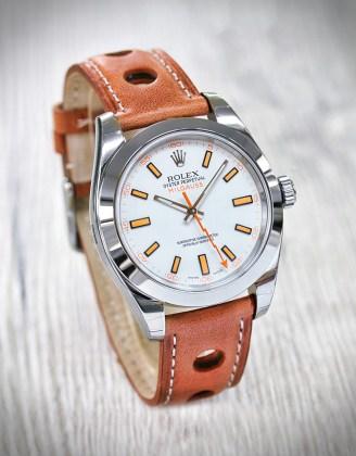 Rolex Milgauss 116400 weiß 2