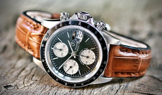 Maßanzüge für exklusive Uhren