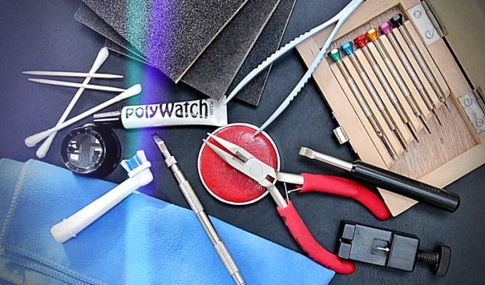 Uhrenwerkzeuge für Einsteiger