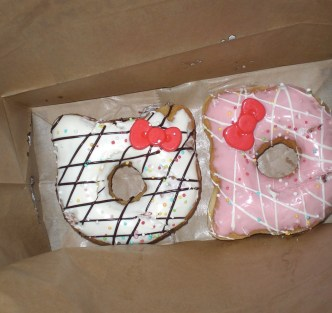 Hello Kitty Donuts !! ©HerrundFrauBayer