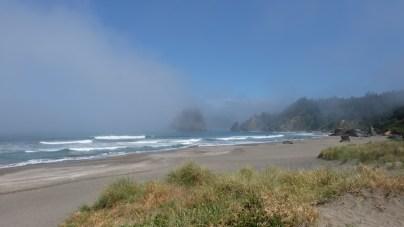 Die Westküste sieht an vielen Stellen so aus, echt schräg. ©HerrundFrauBayer
